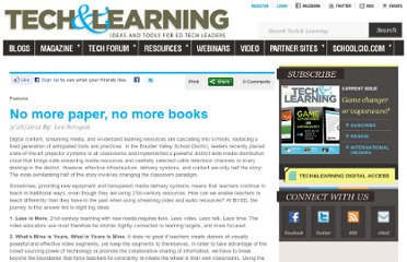 http://www.techlearning.com/features/0039/no-more-paper-no-more-books/52360