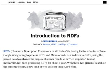 http://alistapart.com/article/introduction-to-rdfa