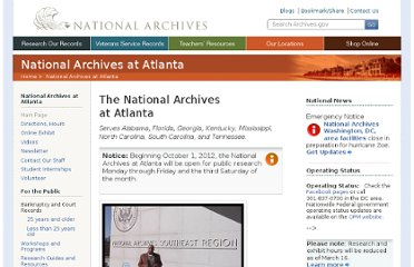 http://www.archives.gov/atlanta/