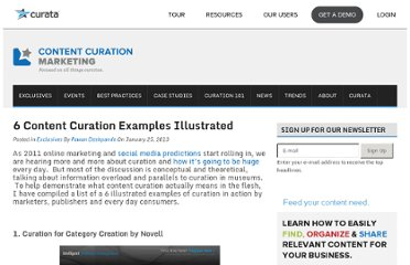 http://www.contentcurationmarketing.com/6-content-curation-examples-illustrated/