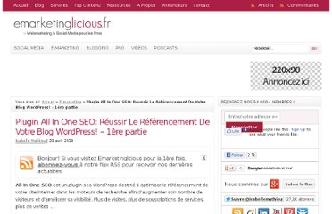 http://www.emarketinglicious.fr/webmarketing/plugin-all-in-one-seo-reussir-le-referencement-de-votre-blog-wordpress-1ere-partie