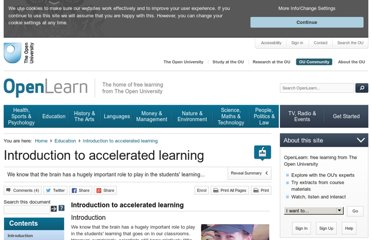 http://www.open.edu/openlearn/education/introduction-accelerated-learning/content-section-0