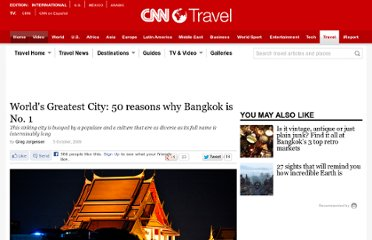 http://travel.cnn.com/bangkok/play/worlds-greatest-city-50-reasons-why-bangkok-no-1-466745