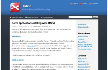 http://www.xmind.net/blog/en/2011/12/applications-with-xmind/