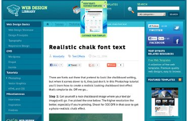 http://www.webdesign.org/photoshop/text-effects/realistic-chalk-font-text.10339.html
