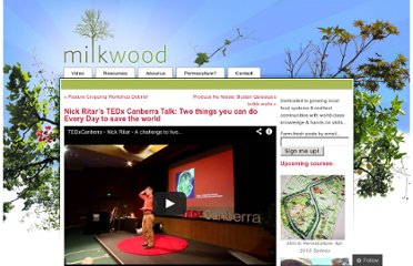 http://milkwood.net/2011/10/31/nick-ritars-tedx-canberra-talk-two-things-you-can-do-every-day-to-save-the-world/