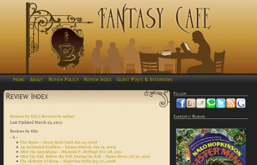 http://www.fantasybookcafe.com/review-index/