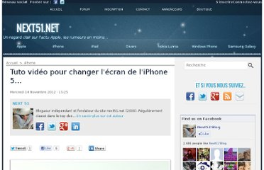 http://www.next51.net/Tuto-video-pour-changer-l-ecran-de-l-iPhone-5_a7315.html