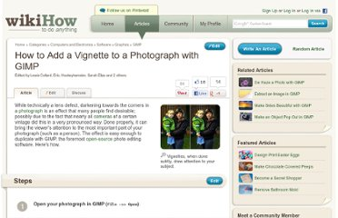 http://www.wikihow.com/Add-a-Vignette-to-a-Photograph-with-GIMP