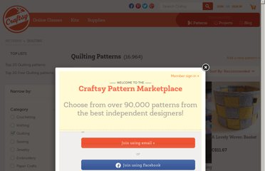 http://www.craftsy.com/patterns/quilting