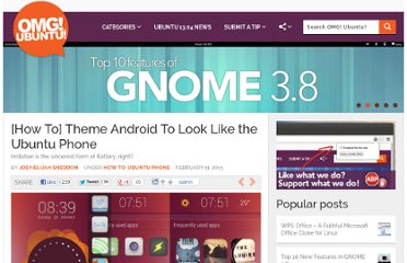 http://www.omgubuntu.co.uk/2013/02/how-to-theme-android-to-look-like-the-ubuntu-phone