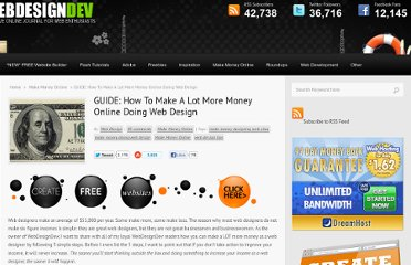 http://www.webdesigndev.com/make-money-online/how-to-make-a-lot-more-money-online-doing-web-design