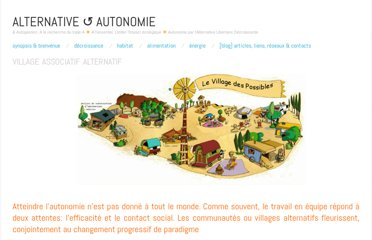 http://decroissons.wordpress.com/habitat/village-associatif-alternatif/