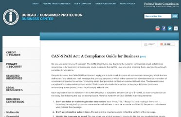 http://www.business.ftc.gov/documents/bus61-can-spam-act-compliance-guide-business