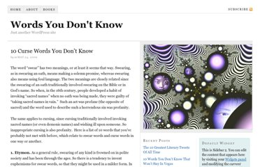 http://www.wordsyoudontknow.com/10-swear-words-or-curse-words-you-dont-know/