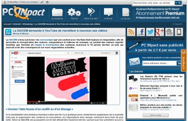 http://www.pcinpact.com/news/76987-la-sacem-demande-a-youtube-monetiser-a-nouveau-ses-videos.htm