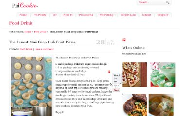 http://www.pincookie.com/the-easiest-mini-deep-dish-fruit-pizzas/
