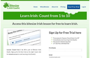 http://www.bitesizeirishgaelic.com/learn-irish-gaelic/irish-numbers/