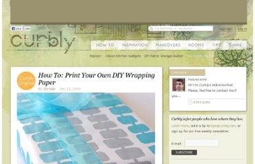http://www.curbly.com/users/chrisjob/posts/9560-how-to-print-your-own-diy-wrapping-paper