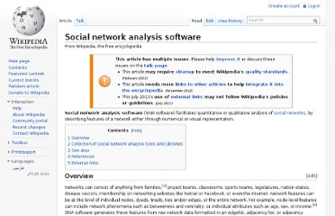 http://en.wikipedia.org/wiki/Social_network_analysis_software
