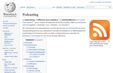 http://fr.wikipedia.org/wiki/Podcasting