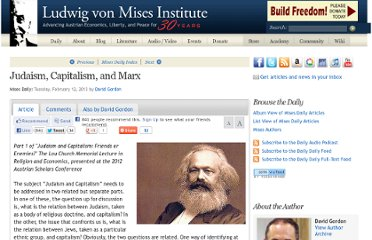 http://mises.org/daily/6354/Judaism-Capitalism-and-Marx