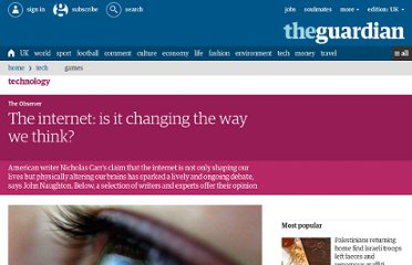 http://www.guardian.co.uk/technology/2010/aug/15/internet-brain-neuroscience-debate