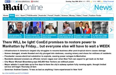http://www.dailymail.co.uk/news/article-2225308/Hurricane-Sandy-2012-There-WILL-light-ConEd-promises-restore-power-Manhattan-Friday--wait-WEEK.html#axzz2KeCHeXba