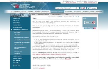 http://www.univ-paris5.fr/ORIENTATION-INSERTION/Se-professionnaliser-s-inserer/Stages