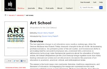 http://mitpress.mit.edu/books/art-school