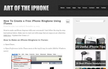 http://artoftheiphone.com/2009/01/19/how-to-create-an-iphone-ringtone-using-itunes/