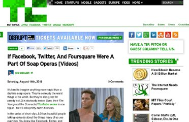 http://techcrunch.com/2010/08/14/facebook-twitter-foursquare-soap-opera/