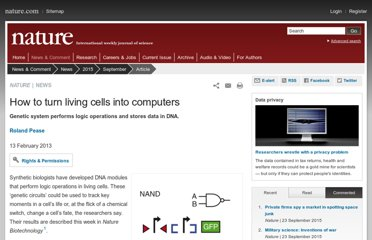 http://www.nature.com/news/how-to-turn-living-cells-into-computers-1.12406