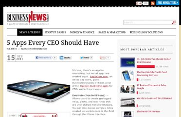 http://www.businessnewsdaily.com/1464-best-business-apps-for-ceos.html