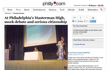 http://articles.philly.com/2012-11-04/news/34927977_1_mock-debate-students-campaign-trail