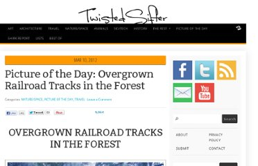 http://twistedsifter.com/2012/03/picture-of-the-day-overgrown-railroad-tracks-in-the-forest/