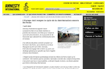 http://www.amnesty.org/fr/news-and-updates/report/europe-must-break-cycle-discrimination-facing-roma-2010-04-06