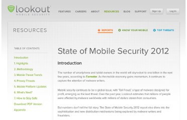 https://www.lookout.com/resources/reports/state-of-mobile-security-2012