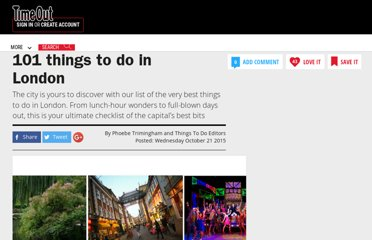 http://www.timeout.com/london/things-to-do/101-things-to-do-in-london