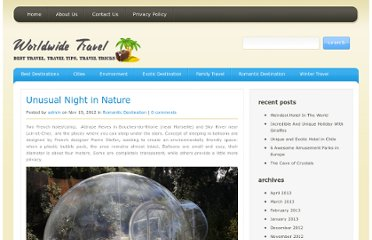 http://www.travelingtotally.com/romantic-destination/unusual-night-in-nature/