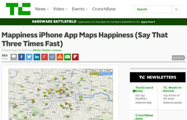 http://techcrunch.com/2010/08/16/iphone-app-maps-happiness/