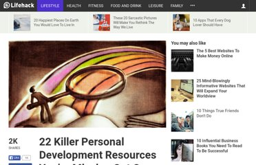 http://www.lifehack.org/articles/lifehack/22-killer-personal-development-resources.html