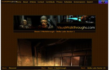 http://www.visualwalkthroughs.com/doom3/deltalabs1/deltalabs1.htm