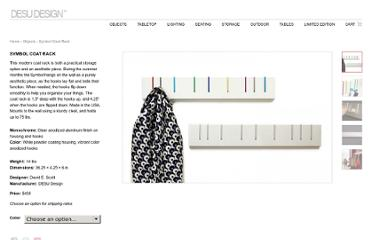 http://desudesign.com/product/objects/symbol-coat-rack/