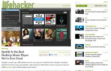 http://lifehacker.com/5330148/spotify-is-the-best-desktop-music-player-weve-ever-used