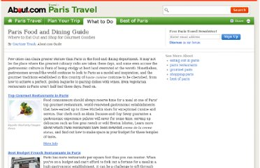 http://goparis.about.com/od/foodanddiningtoppicks/tp/Paris-food-restaurants-guide.htm