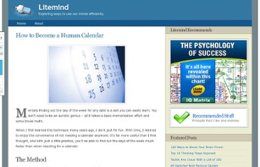 http://litemind.com/how-to-become-a-human-calendar/