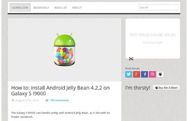 https://gurde.com/2012/08/how-to-install-android-jelly-bean-on-galaxy-s-i9000/