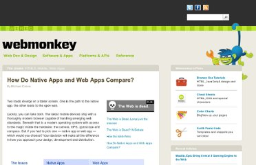 http://www.webmonkey.com/2010/08/how-do-native-apps-and-web-apps-compare/