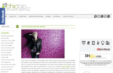http://www.chictip.com/wall-decor/lars-contzen-surface-design